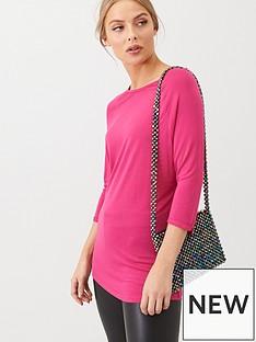 v-by-very-the-essential-three-quarter-sleeved-raglan-t-shirt-pink