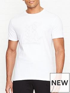 karl-lagerfeld-embossed-logo-t-shirt-whitenbsp