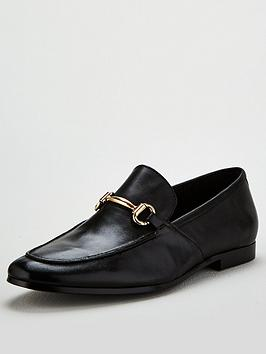 office-lemming-snaffle-loafers-black