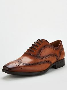 office-macro-lace-up-brogue-shoes-brown