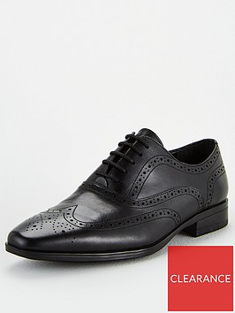office-macro-lace-up-brogue-shoes-black