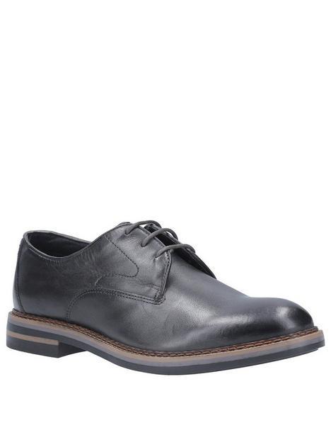 base-london-wayne-lace-up-derby-shoes-black