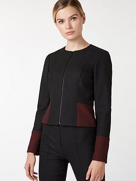 hobbs-corinne-jacket-black-bordeaux