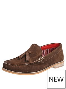 base-london-tempus-suede-loafers-brown