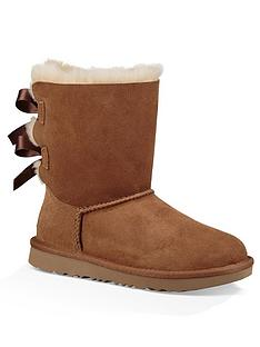 ugg-girls-bailey-bow-ii-boots-chestnut
