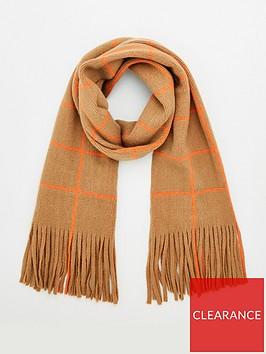 v-by-very-window-pane-check-scarf-camel