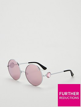 victorias-secret-pinknbspround-sunglasses