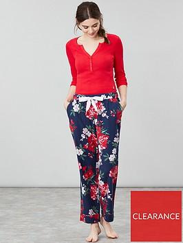 joules-snooze-classic-floral-pyjama-pants-navy-floral