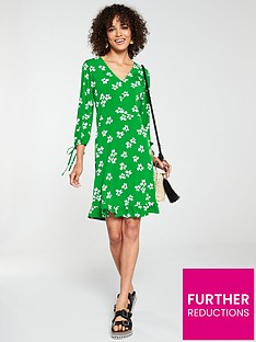 v-by-very-button-down-floral-tea-dress-green-floral