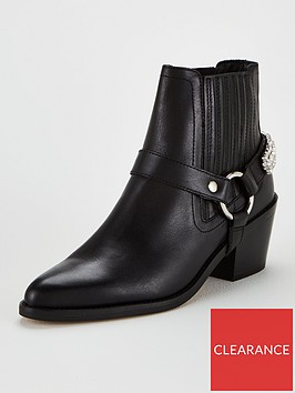 kurt-geiger-london-sylvie-ankle-boots-black