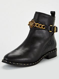 kurt-geiger-london-chelsea-jodhpur-ankle-boots-black
