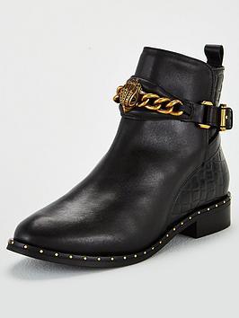kurt-geiger-london-chelsea-jodhpur-ankle-boots-black
