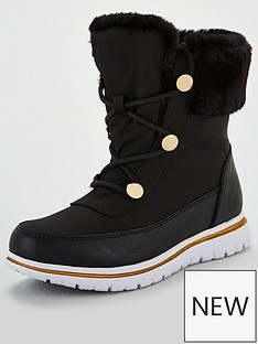 carvela-comfort-randy-snow-boots-black