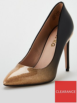 miss-kg-cayleb-high-point-court-shoes-gold