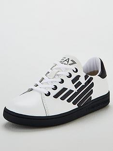 ea7-emporio-armani-boys-classic-logo-lace-up-trainers-whiteblue