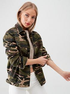 v-by-very-dark-camouflage-print-utility-jacket