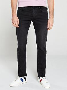 replay-grover-straight-fit-jeans-black
