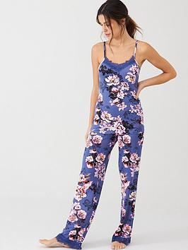 v-by-very-lace-trim-cami-and-pant-set-floral-print