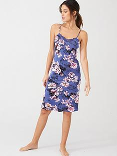 v-by-very-lace-trim-cami-dress-floral-print