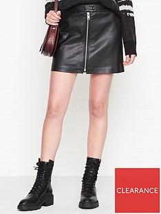 allsaints-lena-skirt-black