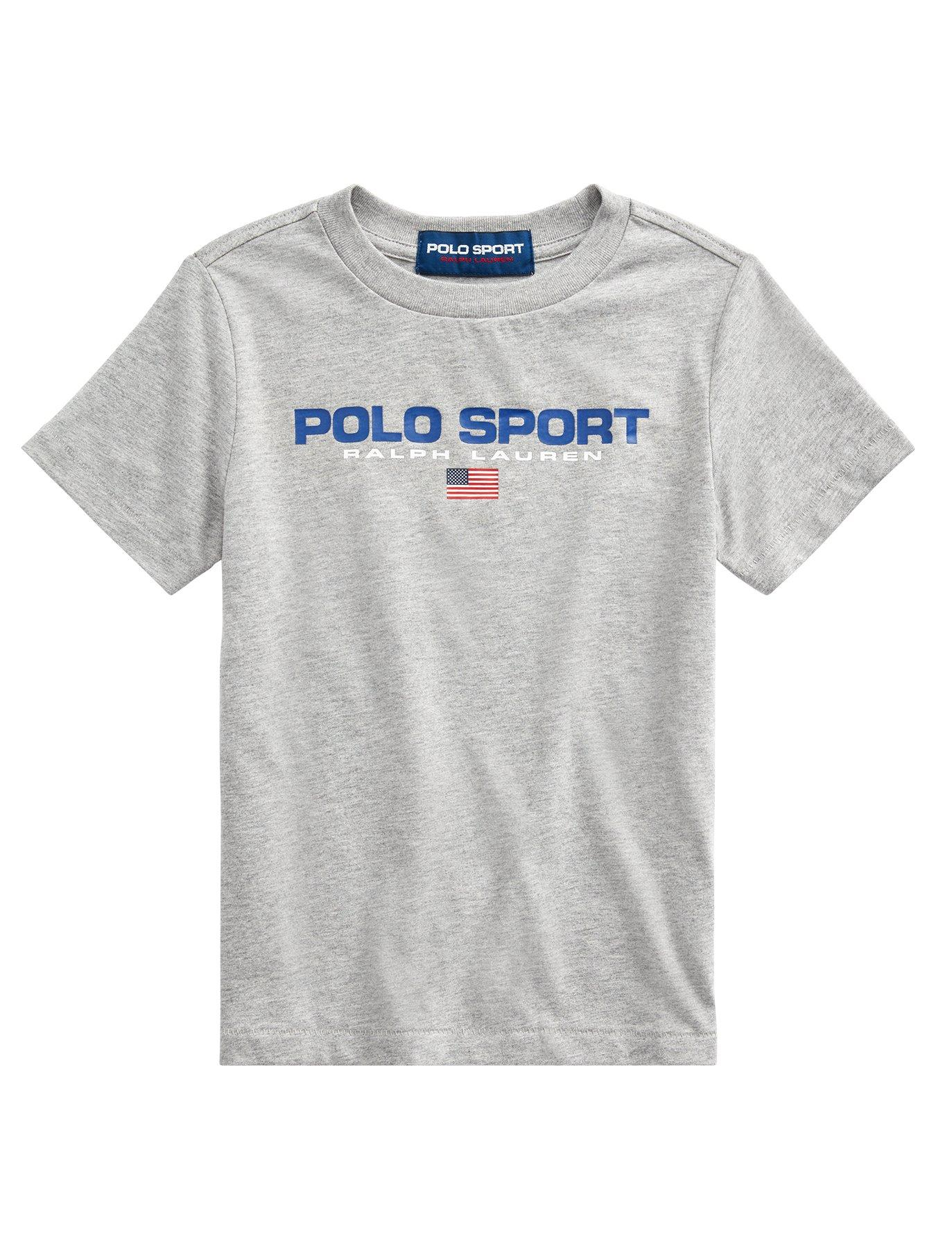 Ralph Lauren Boys Short Sleeve Polo Sport