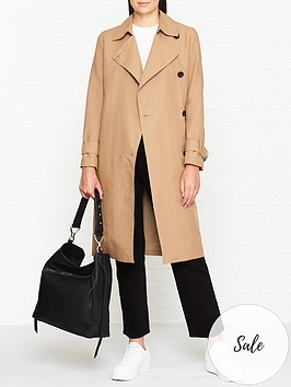 allsaints-avita-trench-coat-tawny-brown