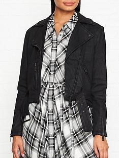 allsaints-micah-coated-denim-biker-jacket-black