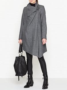 allsaints-monument-check-coat-grey