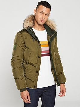 pretty-green-bowman-padded-jacket-khaki