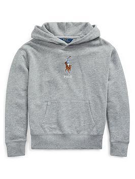ralph-lauren-girls-big-pony-pocket-front-hoodie-grey