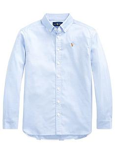 ralph-lauren-girls-polo-print-back-oxford-shirt-blue