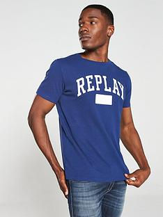 replay-logo-t-shirt-navy-blue