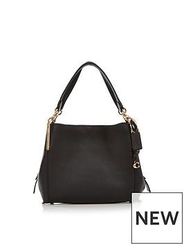 coach-pebbled-leather-dalton-28-shoulder-bag-black