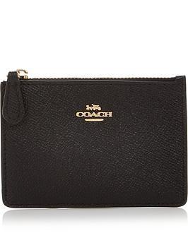 coach-cross-grain-mini-skinny-id-card-holder-black