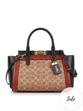 coach-troupe-signaturenbspcoated-canvas-carryall-tote-bag-tan