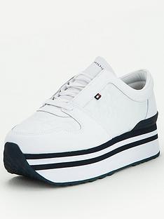 tommy-hilfiger-jacquard-flatform-trainers-white