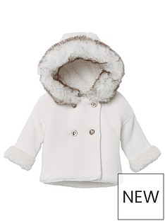 river-island-baby-baby-faux-fur-knit-hooded-cardigan-white