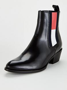 tommy-jeans-cowboy-boots-black