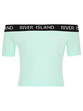 river-island-girls-bardot-top-mint