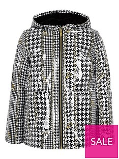 river-island-girls-dogtooth-check-print-rain-mac-blackwhite