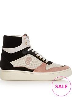 coach-c220-hi-top-leather-trainers-multi