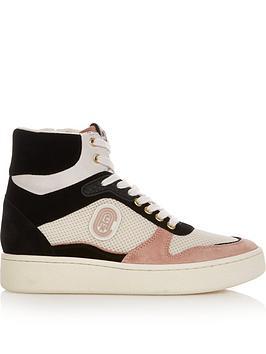 coach-c220-hi-top-leather-trainers-multi