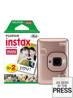 fujifilm-instax-mini-liplay-hybrid-blush-gold-instant-camera-inc-20-shots