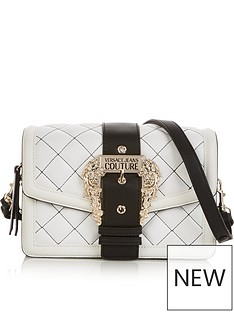 versace-jeans-couture-quilted-buckle-cross-body-bag-white