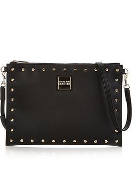 versace-jeans-couture-stud-embellished-clutch-bag-black