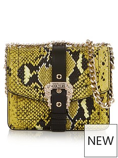 versace-jeans-couture-snake-buckle-cross-body-bag-yellow