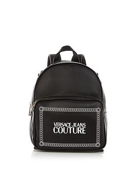versace-jeans-couture-logo-print-backpack-black