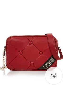 versace-jeans-couture-quilted-cross-body-bag-red