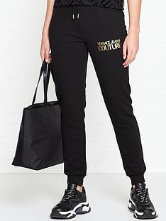 versace-jeans-couture-metallic-logo-sweatpants-black