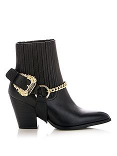 versace-jeans-couture-buckle-western-ankle-boots-black